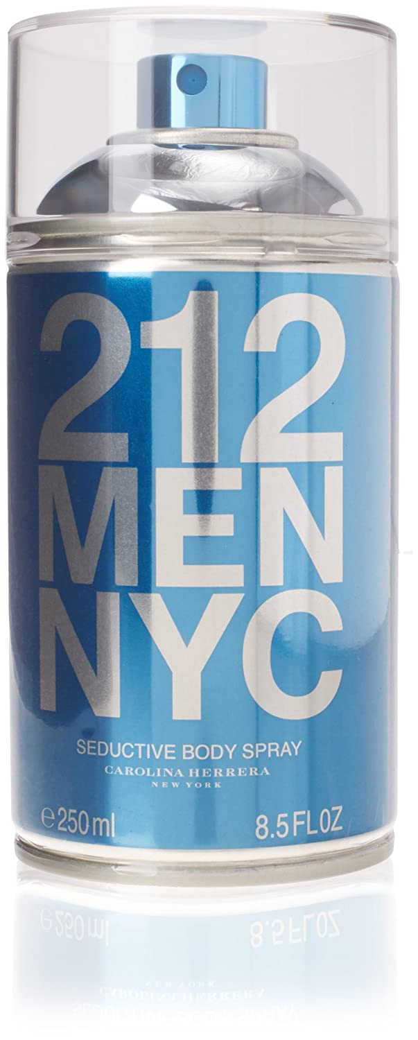 Carolina Herrera 212 Men Nyc seductor Body Spray, 250 ml ...