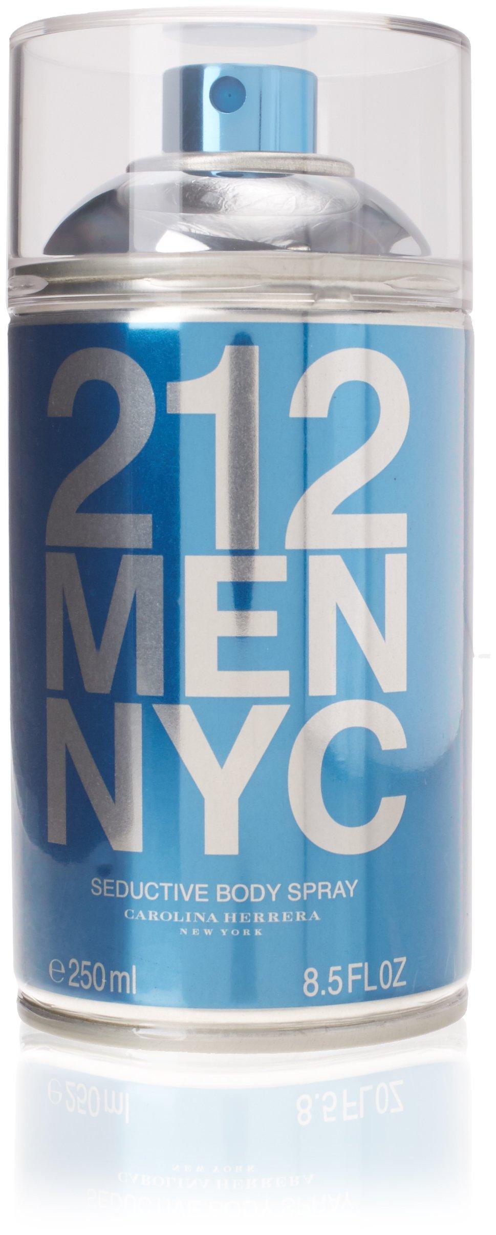 Carolina Herrera 212 Men Body Spray 8.5oz (250ml)