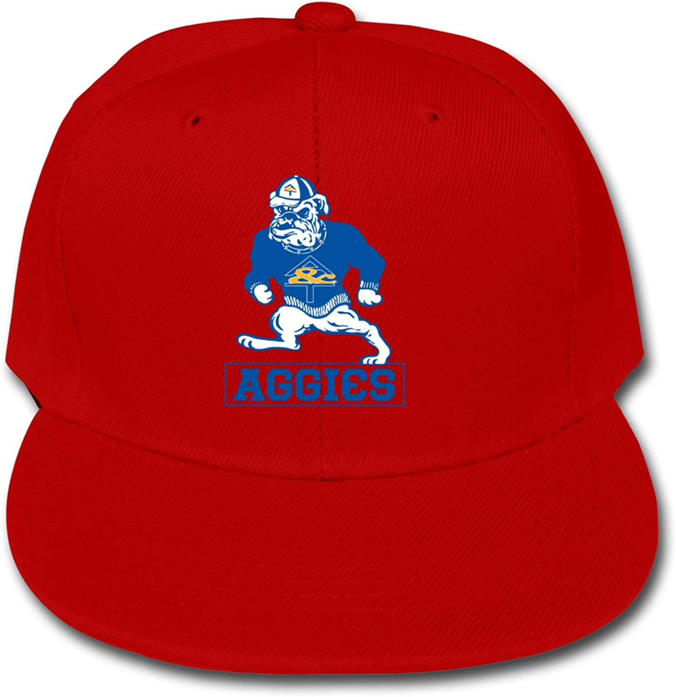 ETONKIDD Bulldogs (2) Children's Cotton Baseball Caps, Adjustable Trucker Cap, Solid Color Baseball Cap Black