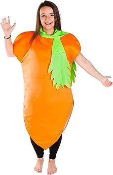 Bodysocks® Disfraz de Zanahoria Adulto: Amazon.es: Juguetes y juegos