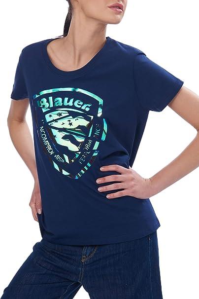 Blauer T-Shirt Manica Corta Donna