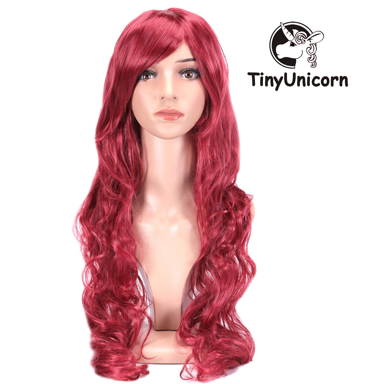 Curly Cosplay Wig Long Hair Heat Resistant Spiral Costume Wigs Anime Fashion Wavy Curly Cosplay Daily Party Silver 32 80cm Tinyunicorn