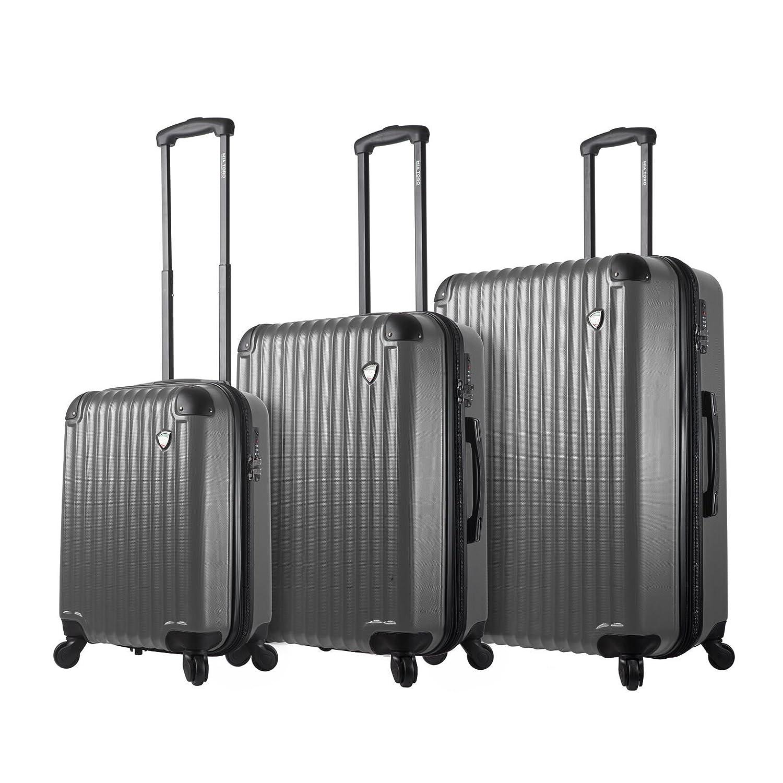 Mia Toro 機内持ち込み手荷物, シルバー, One Size B077G4846Y シルバー