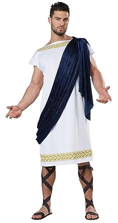 c7a1e63db4b6 Amazon.com: California Costumes Men's Grecian Toga: Clothing