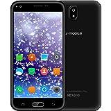 Sbloccato Telefono Mobile V ·Mobile J5 Cellulari in Offerta Smartphone 5.5 Pollici HD IPS Supporta Dual SIM 8GB ROM WIFI Cellulare 3G Android 7.0 Quad Core 5MP Fotocamera Batteria 2800mAh GPS (Nero)