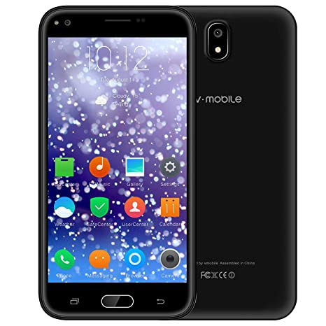 586522d5eef7b Sbloccato Telefono Mobile V ·Mobile J5 Cellulari in Offerta Smartphone 5.5  Pollici HD IPS Supporta