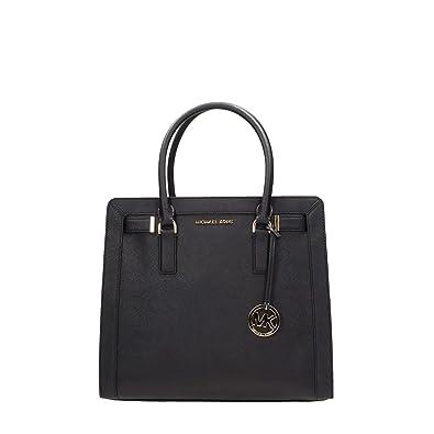 b845cf36835e Amazon.com  Michael Kors Dillon Shoulder Bag (Black)  Shoes