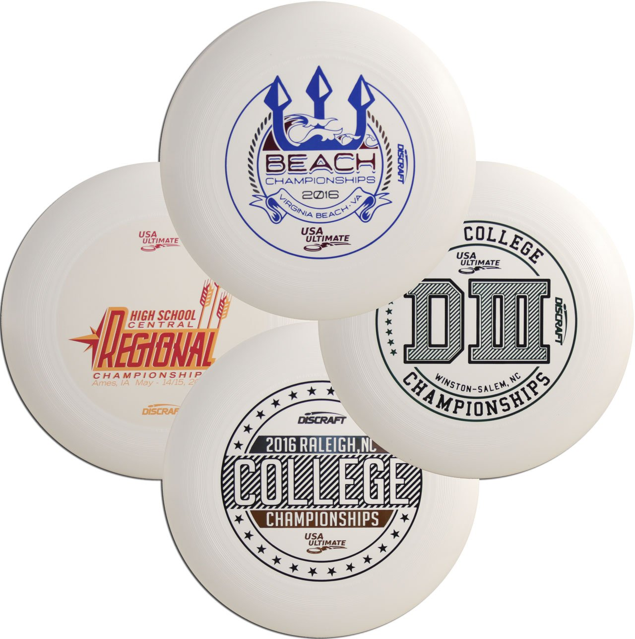 Discraft Ultra-Star Ultimate Disc Assorted Designs (Four pack) by The Wright Life