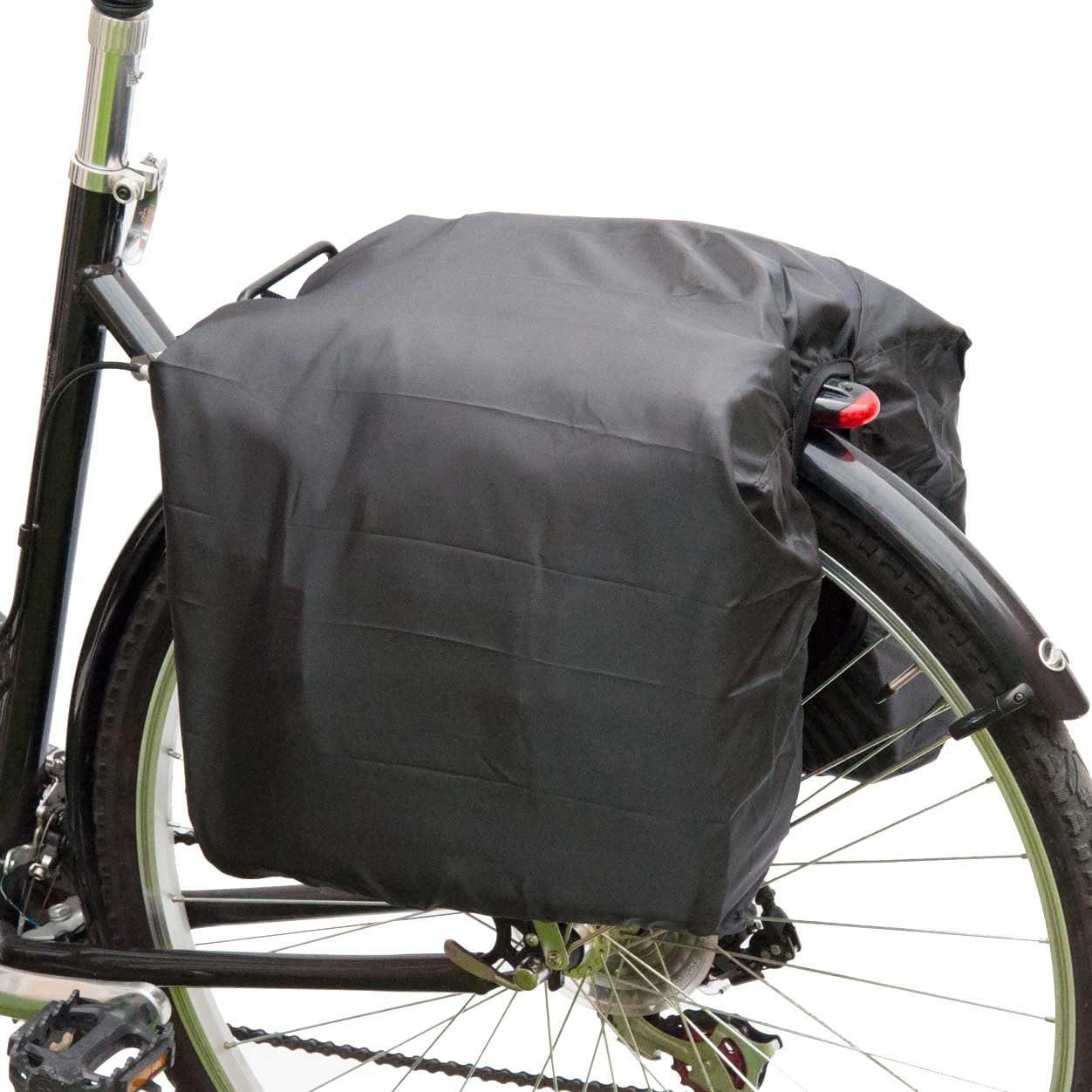 Funda impermeable para beluko – Alforjas para bicicleta, negro ...