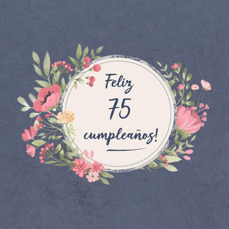 Feliz 75 Cumpleaños: El libro de firmas evento | Libro De ...