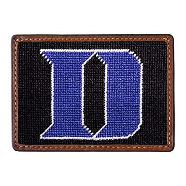 Duke University Needlepoint Credit Card Wallet by Smathers & Branson