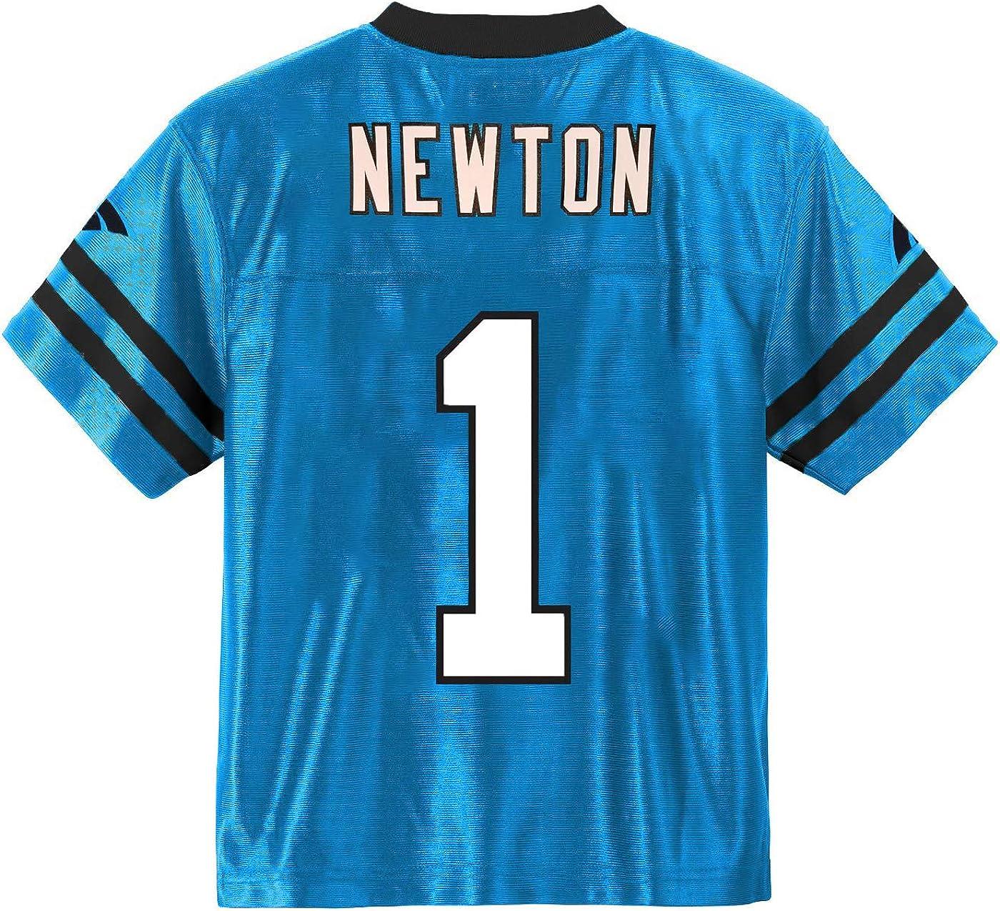 Cam Newton Carolina Panthers #1 Blue Infants Mid Tier Alternate Jersey