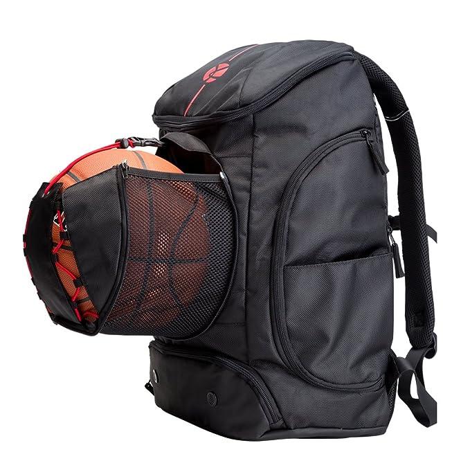 Amazon.com: Kuangmi – Mochila de baloncesto bola bolsillo ...