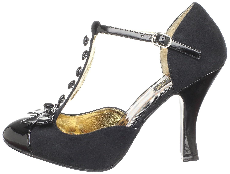 Pinup Couture Smitt10/Bmcsue-bpt Damen Damen Smitt10/Bmcsue-bpt T-Spange Schwarz (schwarz) f012c2