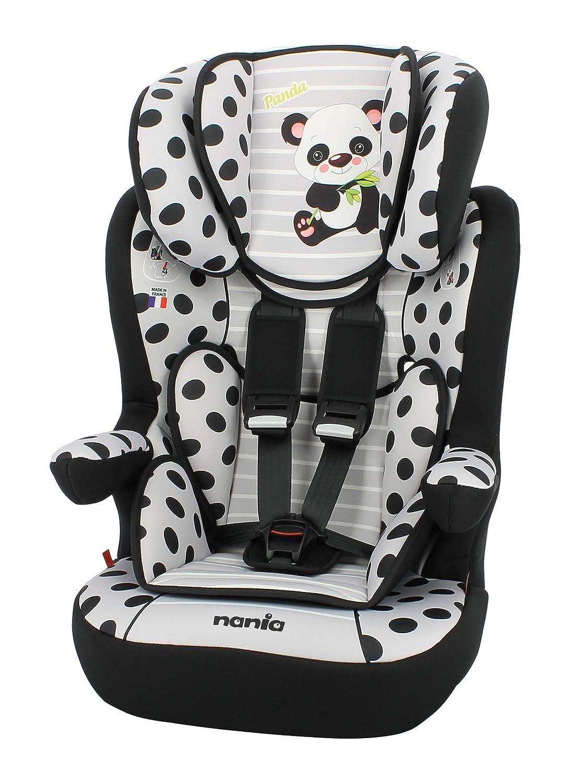 Siè ge auto I-Max Grp 1/2/3 Nania Animals Panda TEAM TEX