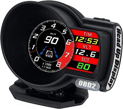 OBDⅡ HUD Head-up Display Car Speedometer OBD2 Smart Digital Speedometer Sale