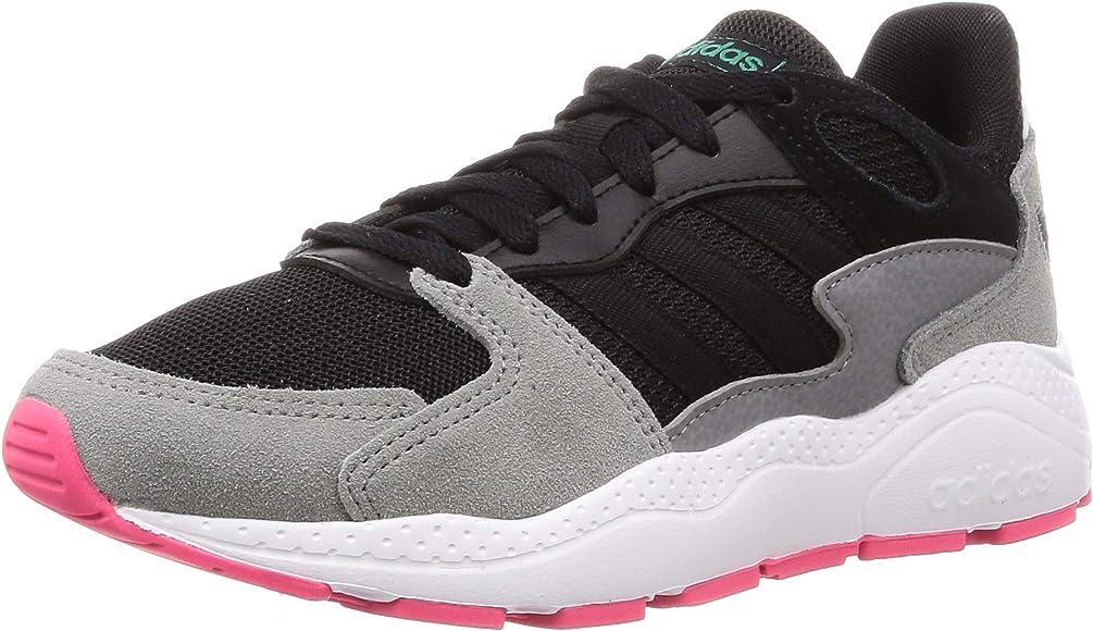 Adidas Crazychaos, Zapatillas para Correr para Mujer, núcleo Negro/núcleo Negro/Real Pink S18, 36 2/3 EU: Amazon.es: Zapatos y complementos