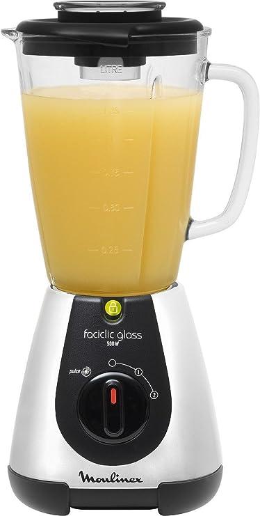 Moulinex Faciclick Cristal LM310E10 Batidora de vaso con potencia ...