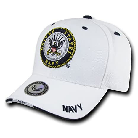 91320bb9511 Rapid Dominance Genuine White Military Baseball Caps - Adjustable - US NAVY  -  Amazon.ca  Luggage   Bags