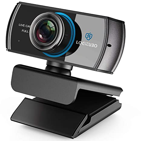 LOGITUBO Streaming Webcam 1536P 1080P Game Web cam with Mic  for Video  Chatting and Recording Compatiable with Xbox One PC Laptop Support OBS  XSplit