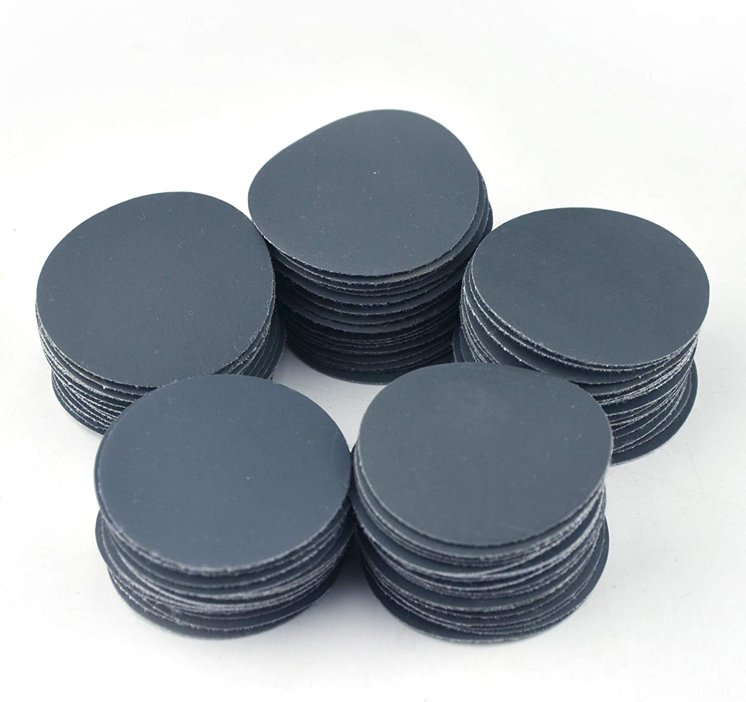 2-Inch Hook and Loop Sanding Disc Wet Dry Silicon Carbide 100 Grit 25 Pcs