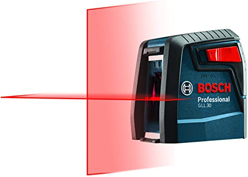 Bosch Self-Leveling Cross-Line Red-Beam High Power Laser Level GLL 30
