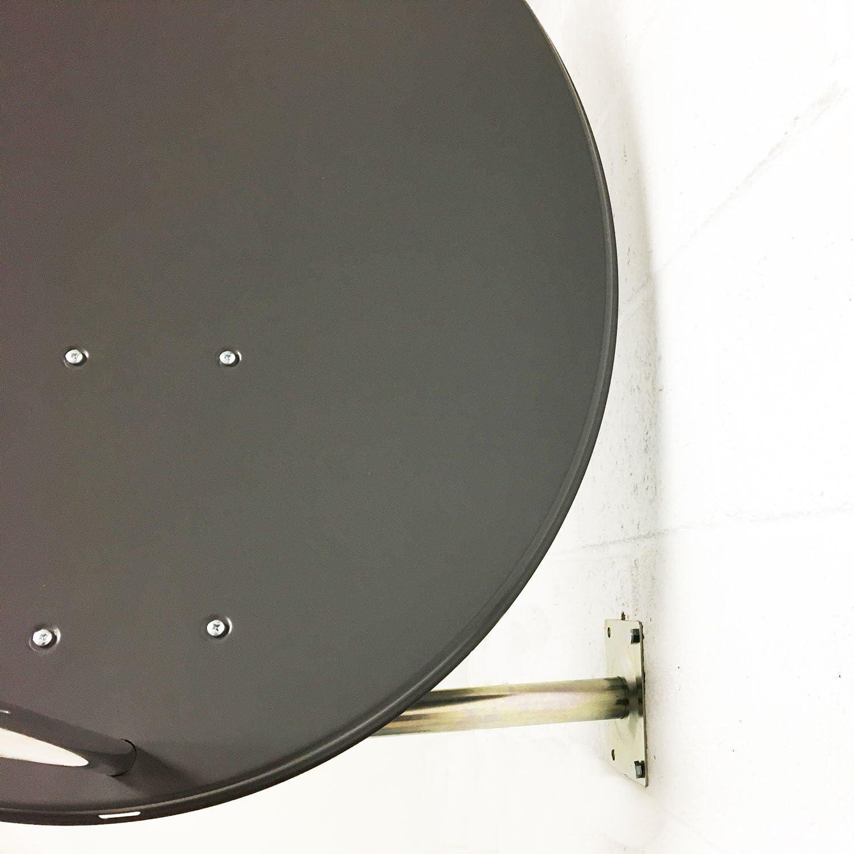 Kit de antena parabólica de 80 cm para Freesat con Quad LNB ...