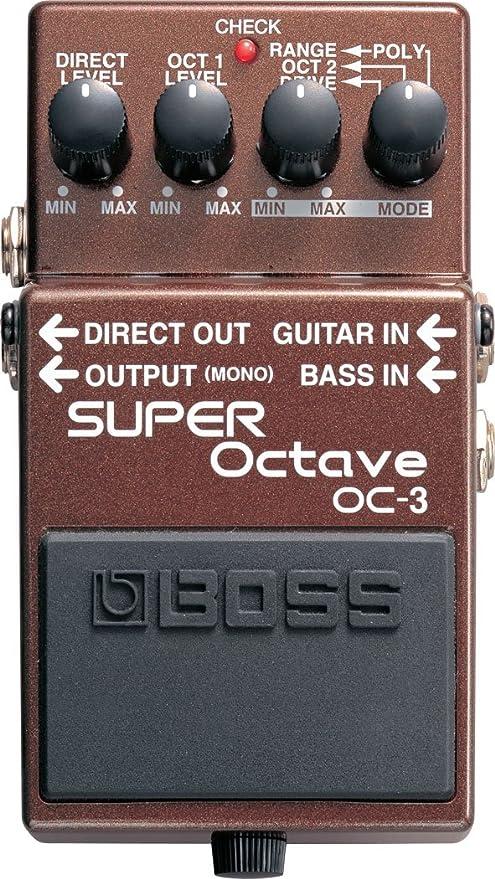 Boss OC-3 Dual Super Octave Pedal: Amazon.es: Instrumentos musicales