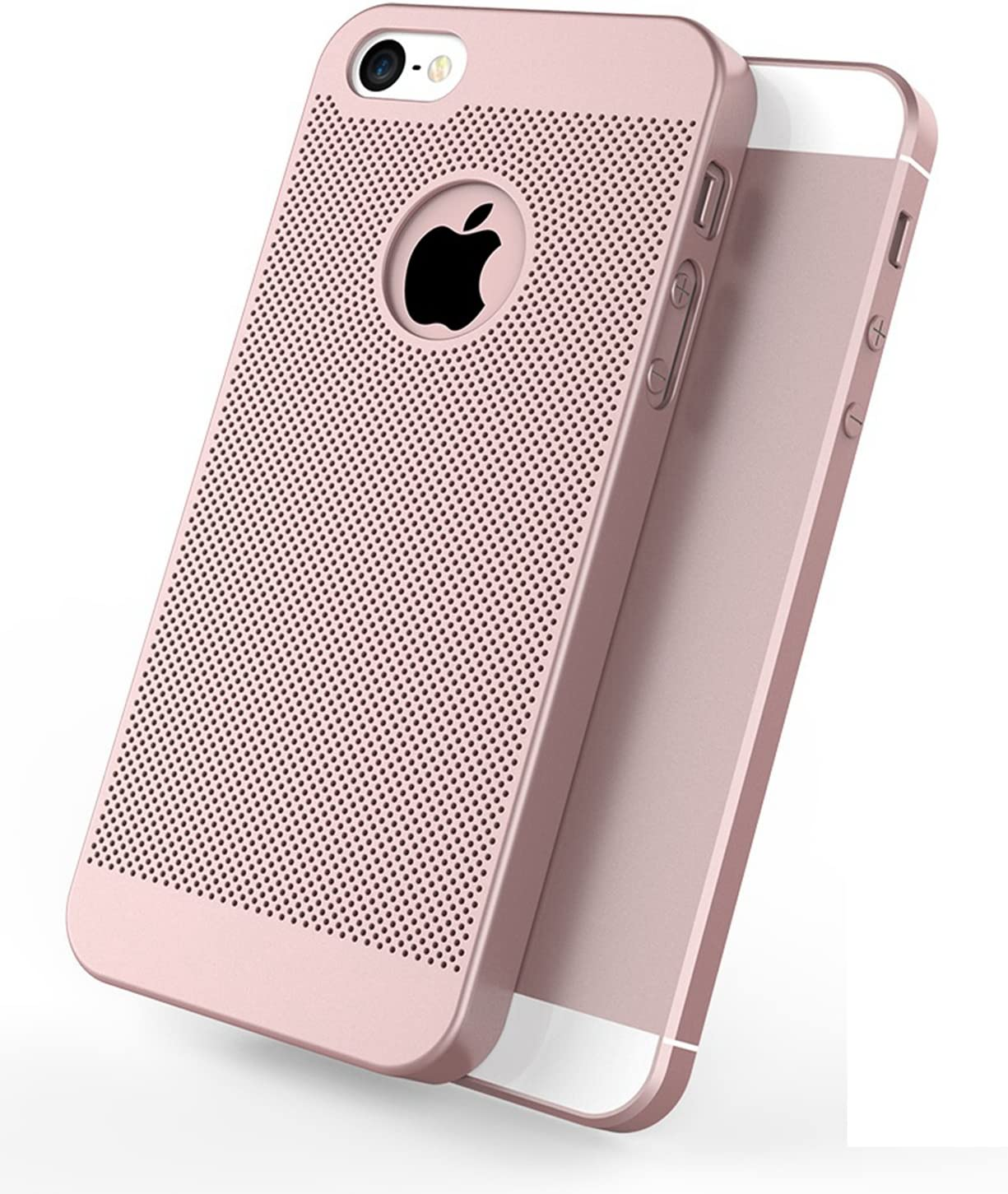 iPhone 5 Case/iPhone 5S Case,3000 grids,Breathable & Cooling,Slightly Matte Material for a Comfortable Feel and Prevents Slipping,360° Protective Case Cover for iPhone 5/iPhone 5S