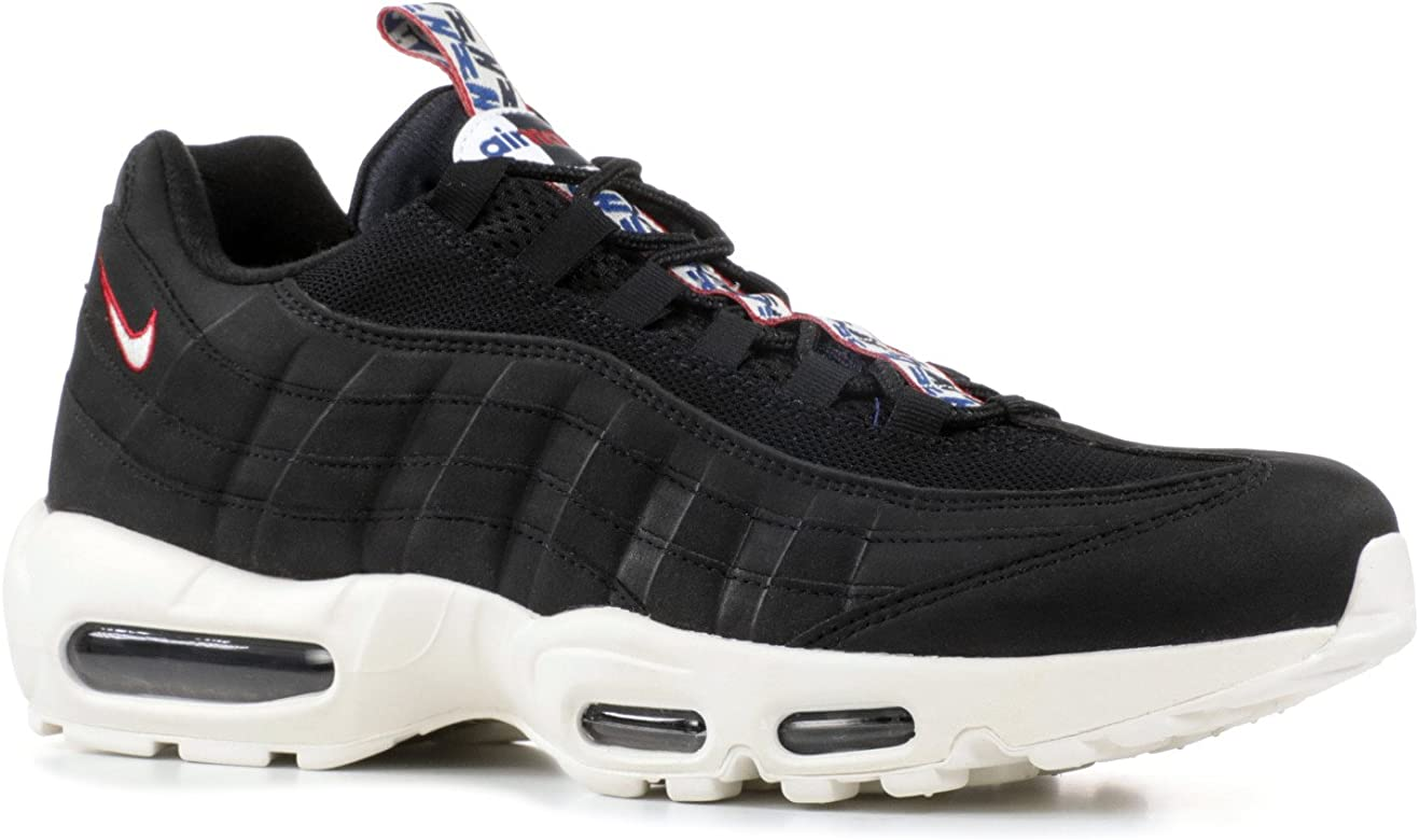 Air MAX 95 TT Pull Tab Black Sail Gym Red AJ1844 002