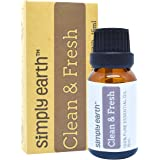 Clean & Fresh Essential Oil Blend - 15ml, 100% Pure Therapeutic Grade by Simply Earth