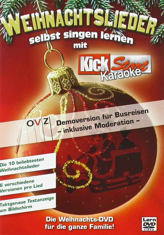 Weihnachtslieder Kurz.Karaoke Weihnachtslieder Selbst Singen Lernen Amazon De Dvd