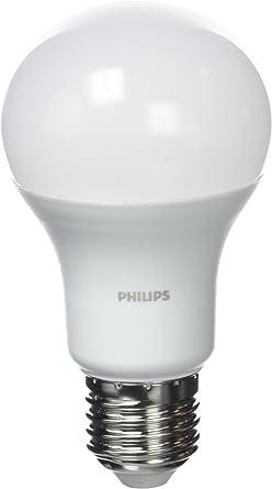 Philips Bombilla LED E27, 11 W Equivalente a 75 W en incandescencia, pack 3 unidades, luz blanca fría: Amazon.es: Iluminación