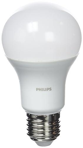 Philips Bombilla LED E27, 11 W Equivalente a 75 W en incandescencia, pack 3