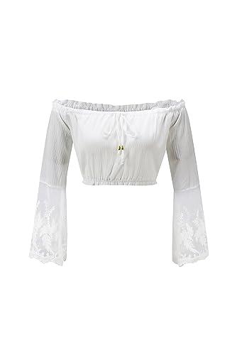 Beauty7 Camisetas Corta para Mujer Impresos Florales Off Hombro Mangas Larga Camisas Verano Casual B...