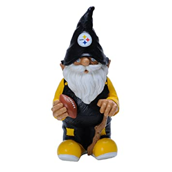 Amazoncom NFL Pittsburgh Steelers Garden Gnome Sports Outdoors