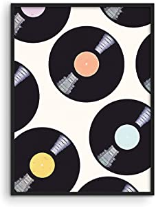 """Music Posters for Room Aesthetic - By Haus & Hues 