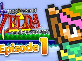 Watch Clip The Legend Of Zelda A Link To The Past Gameplay Zebra Gamer Prime Video