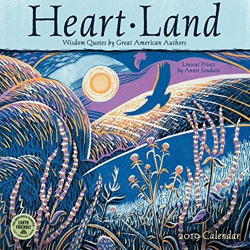 Heart Land 2019 Wall Calendar: Wisdom Quotes by Great American ()