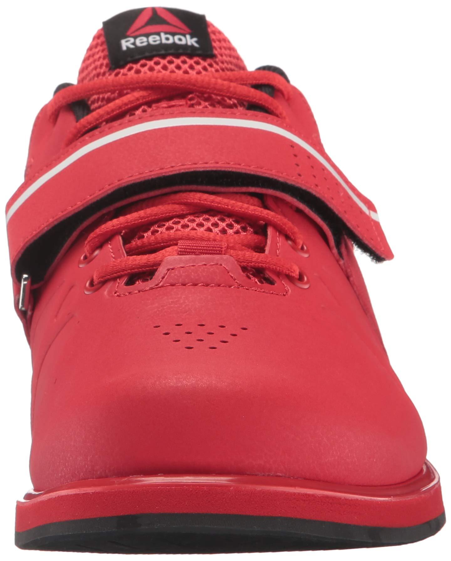 Reebok Men's Lifter Pr Cross-Trainer Shoe, Primal Red/Black/White, 7.5 M US by Reebok (Image #4)