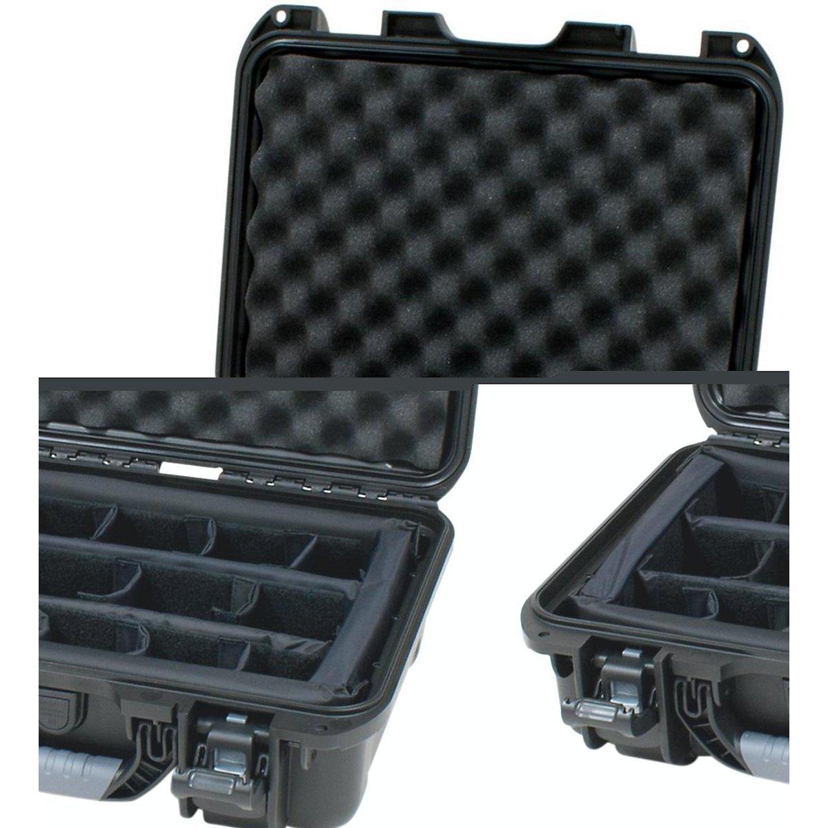 Gator Cases GU-1510-06-WPDV Titan Series Waterproof Equipment with Divider Insert 15'' x 10.5'' x 6.2''