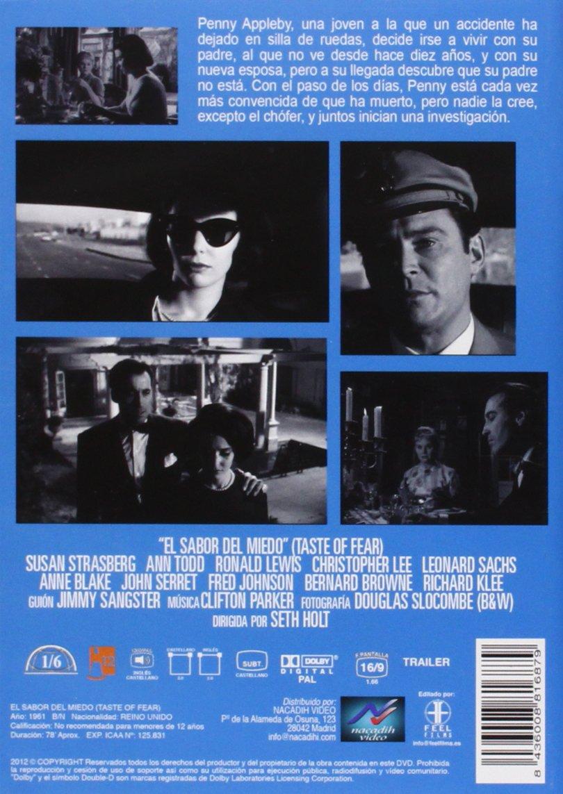 Amazon.com: El Sabor Del Miedo (Import Movie) (European Format - Zone 2) (2013) Susan Strasberg, Ann Todd, Ronald Lewis: Movies & TV