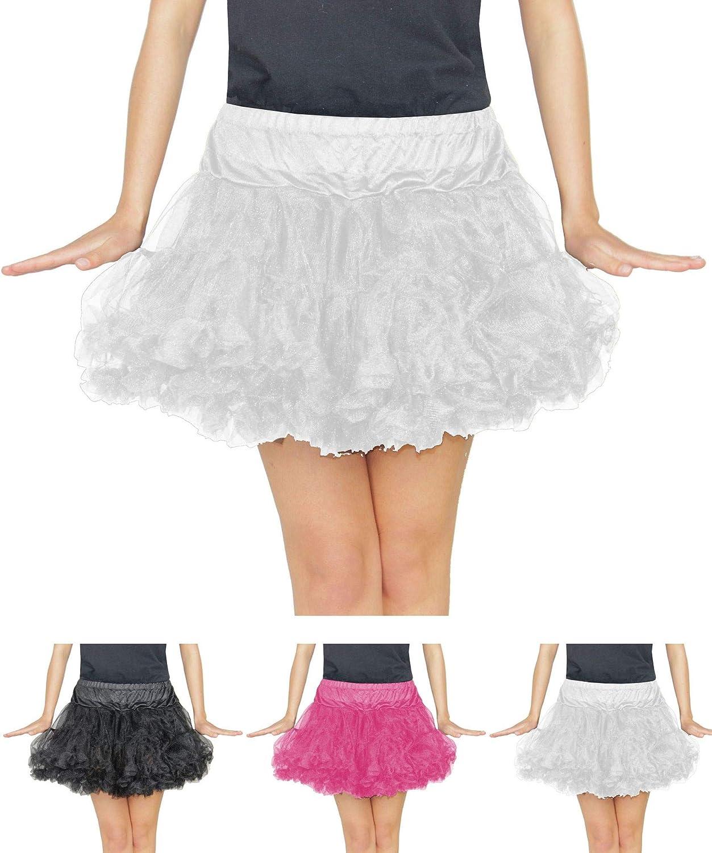 Foxxeo tutú de Mujer Blanco para Ballet Carnaval Carnaval Falda de ...