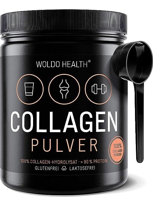 Colágeno Bovino Polvo Hidrolizado 100% Proteína - 500g Colágeno de vacuno
