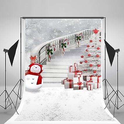150x220cm Weiß Foto Hintergrund Winter Weihnachtsbaum Kamera