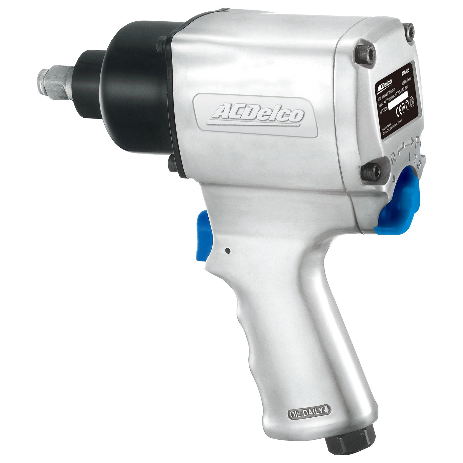 ACDelco ANI405 Heavy Duty Twin Hammer 1/2'' Air Impact Wrench Pneumatic Tools