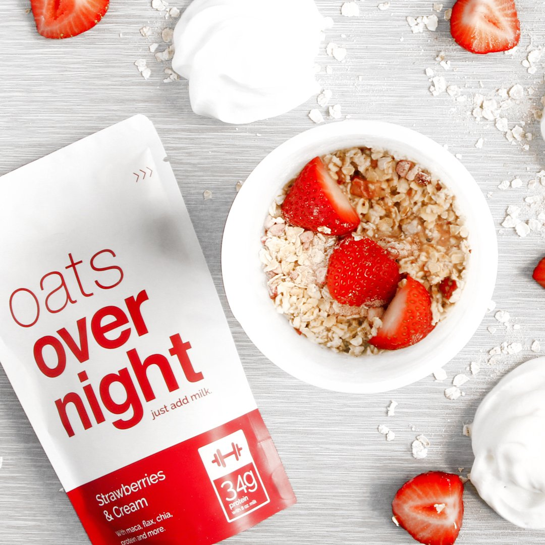 Oats Overnight - Premium High-Protein, Low-Sugar, Gluten-Free (3oz per pack) (24 Pack Variety with BlenderBottle) by Oats Overnight (Image #5)