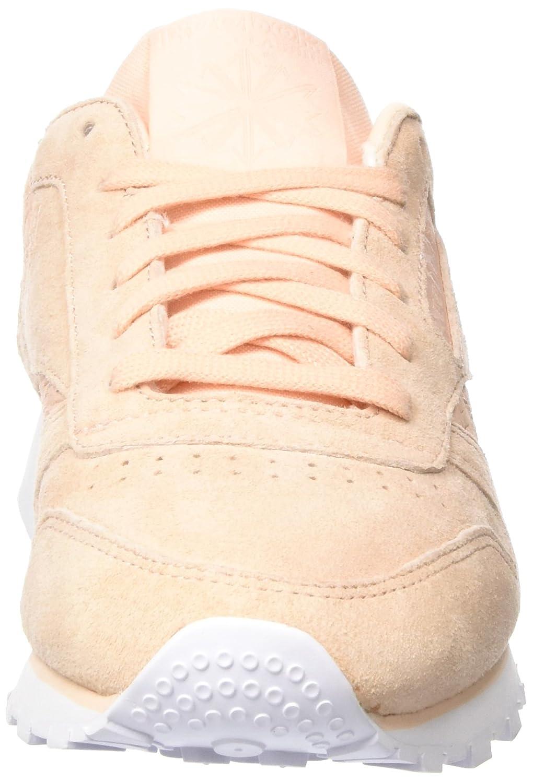 Reebok Cl Lthr Woven Emb Zapatillas de Running para Mujer