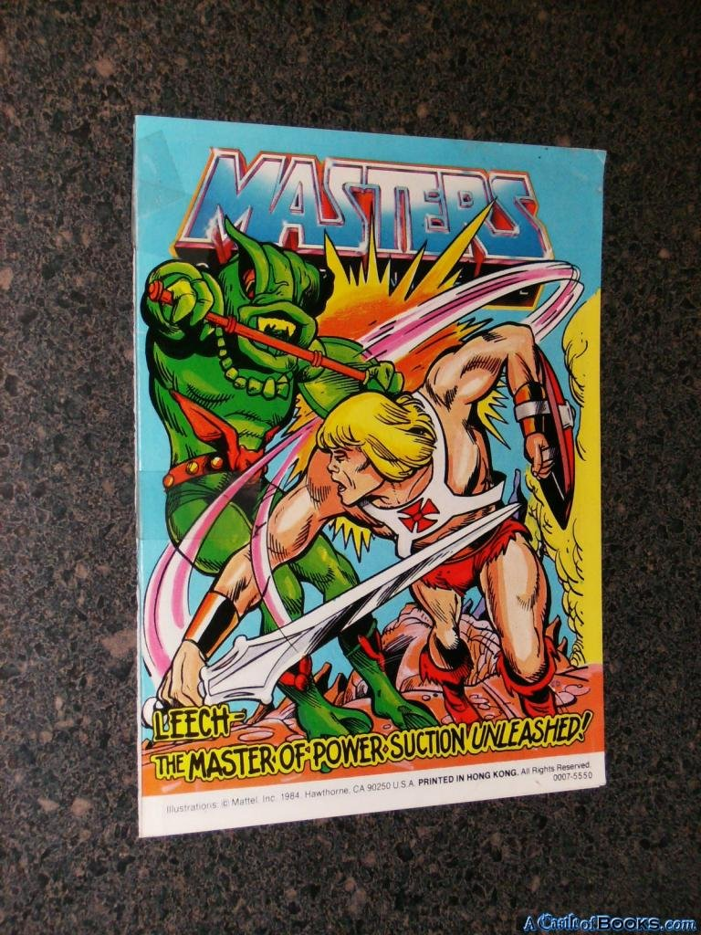 Masters of the Universe: Leech- The Master of Power Suction ...