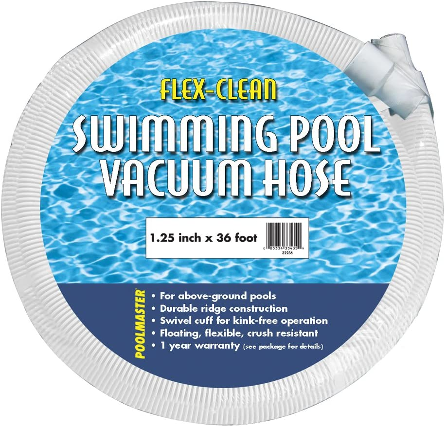 "Poolmaster 32236 Above-Ground Swimming Pool Vacuum Hose,1-1/4""-Inch x 36-Feet"